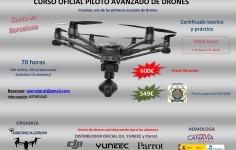Curso de Piloto Avanzado de RPAS (Drones)