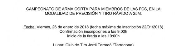 XI CAMPEONATO DE TIRO – IPA TARRAGONA