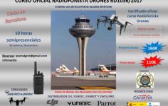 CURSO RADIOFONISTA DRONES / RPAS