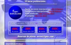 CURSO OFICIAL PILOTO AVANZADO DE DRON