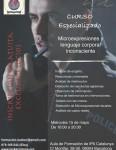 Masterclass «Microexpresiones y lenguaje corporal inconsciente»