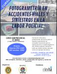 Curso Fotogrametría en accidentes viales y siniestros en la labor policial
