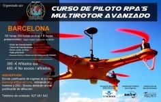 CURSO DE PILOTO RPA's MULTIROTOR AVANZADO