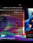 CURSO DE VERIFICACIÓN OPERATIVA DE DOCUMENTOS NIVEL I Y II