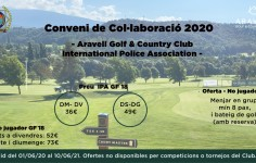 Conveni col·laboració IPA – Aravell Golf & Country Club