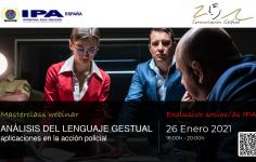 Masterclass Webinar Análisis del lenguage gestual