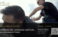 Curso de Lenguaje Gestual en Investigación Policial