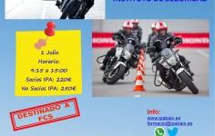 CURSO CONDUCCIÓN DE MOTOCICLETAS