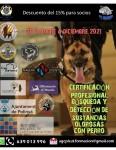 CURSO BUSQUEDA Y DETECCIÓN DE SUSTANCIAS OLOROSAS CON PERRO